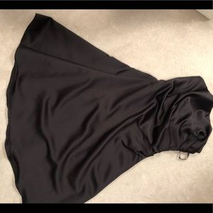 Alfred Angelo Black Strapless Dress Size 12